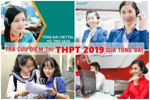 Tra cứu điểm thi THPT 2019 qua tổng đài Viettel, Vinaphone, Mobifone nhanh, chuẩn nhất