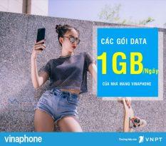 Các gói data Vinaphone ưu đãi 1GB mỗi ngày cực hot giá chỉ từ 2000đ