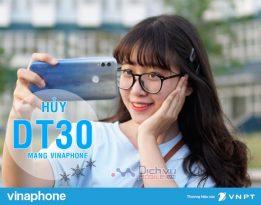 Cách hủy gói DT30 Vinaphone khi hết nhu cầu, tiết kiệm 30,000đ