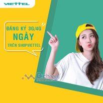 Cách đăng ký các gói data 1 ngày mạng Viettel qua ShopViettel nhanh nhất