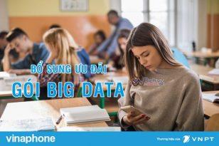 HOT: Vinaphone bổ sung ưu đãi giải trí cho các gói BIG DATA cước không đổi