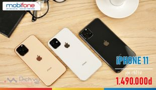 Mobifone bán điện thoại iPhone 11 giá từ 1.490.000đ trên toàn quốc