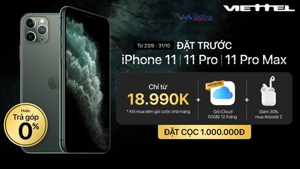 Viettel kết hợp với Apple tặng 50GB iCloud miễn phí cho khách hàng