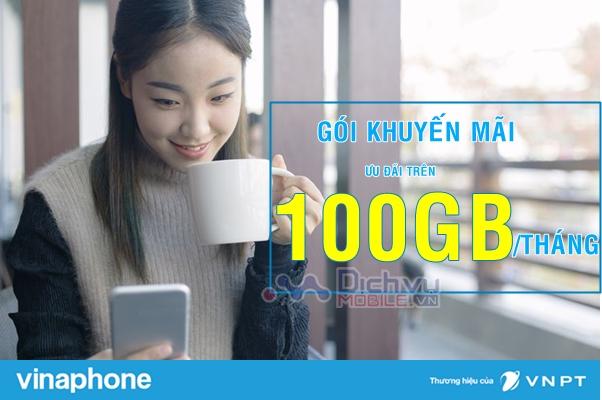 Cách đăng ký các gói khuyến mãi ưu đãi trên100GB/ tháng của Vinaphone