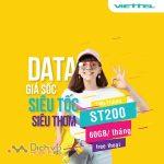 Hướng dẫn đăng ký gói ST200 Viettel nhận 60GB và free thoại cực khủng