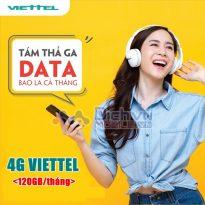 Hướng dẫn đăng ký 4G Viettel ưu đãi 120GB mỗi tháng chỉ từ 120,000đ