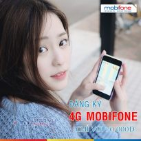 Đăng ký gói 4G tháng Mobifone nào khi chỉ có 70,000đ?