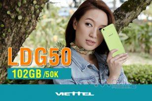 Cách đăng ký gói LDG50 Viettel nhận 120GB data 4G chỉ 50,000đ cực dễ