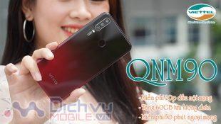 Cách đăng ký gói QNM90 Viettel nhận ngày combo khủng
