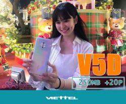 Hướng dẫn đăng ký gói V5D Viettel chỉ 5K có 20 phút và 250MB data 4G