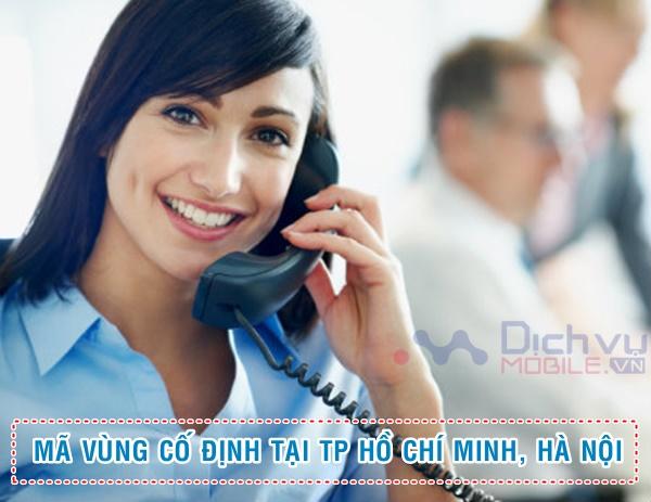 Cập nhật mã vùng điện thoại cố định TP Hồ Chí Minh, Hà Nội mới nhất năm 2020