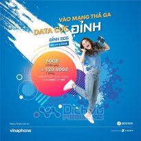 Đăng ký gói D60G Vinaphone 2GB/ ngày trọn gói đón Tết cực Đỉnh