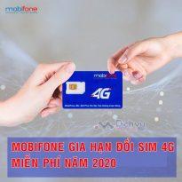 Hot: Mobifone gia hạn ưu đãi đổi sim 4G miễn phí năm 2020