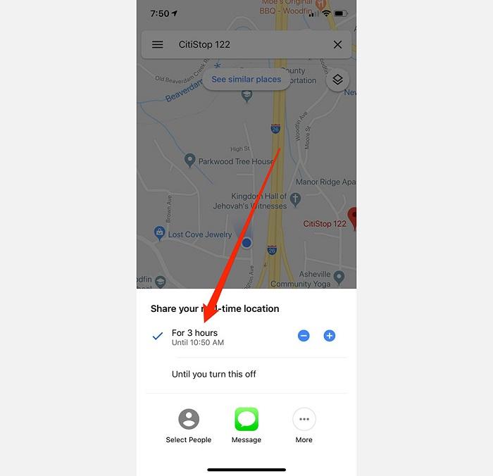 Hướng dẫn chia sẻ vị trí trên Google Maps giữa điện thoại iOS và Android