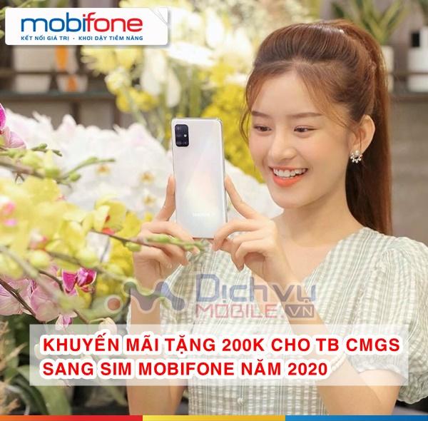 Khuyến mãi 200k cho các thuê bao chuyển mạng đến Mobifone đầu năm 2020