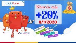 mobifone khuyen mai the nap ngay vang 7-1-2020