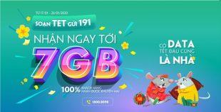 Viettel tặng miễn phí đến 7GB cho 100% khách hàng toàn mạng chào xuân Canh Tý