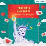 Viettel tặng data miễn phí và áp dụng loạt ưu đãi hấp dẫn mừng Valentine