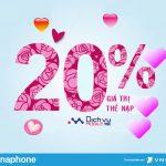 Vinaphone khuyến mãi 20% giá trị thẻ nạp ngày vàng 28/2/2020