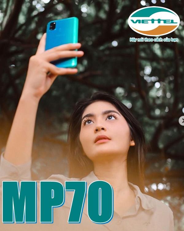 Hướng dẫn đăng ký gói MP70 Viettel free thoại chỉ 70,000đ