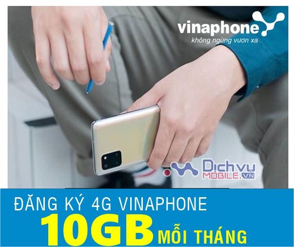 Dùng trên 10GB mỗi tháng thì đăng ký gói 4G Vinaphone nào