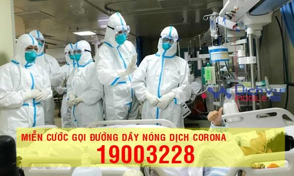 Mobifone, Vinaphone, Viettel miễn cước gọi đến đường dây nóng dịch Corona