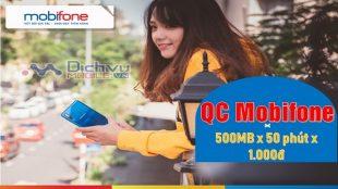goi cuoc QC mang Mobifone