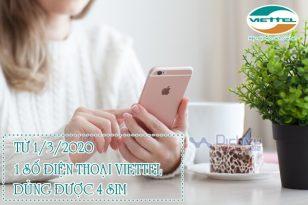 CỰC HOT: Viettel cho phép dùng 1 số điện thoại trên 4 sim từ 1/3/2020