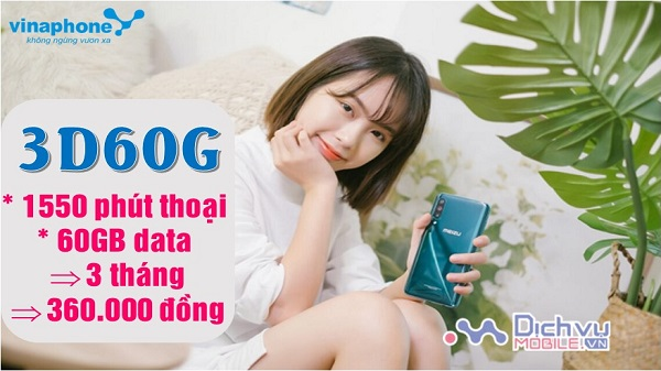 Dang ky goi cuoc 3D60G mang Vinaphone
