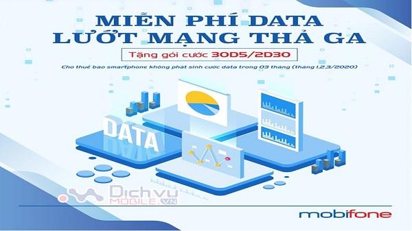 Mobifone tang data mien phi cho khach hang