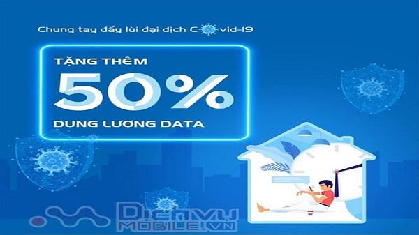 Vinaphone va Viettel tang 50% data khi dang ky hoa gia han goi cuoc 4G