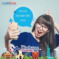 Các khuyến mãi hấp dẫn dành cho sim sinh viên Mobifone 2020