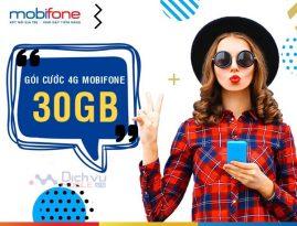 Hướng dẫn đăng ký các gói 4G Mobifone 30GB giá cực rẻ