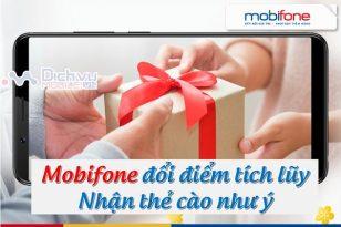 Mobifone doi diem tich kuy nhan the cao