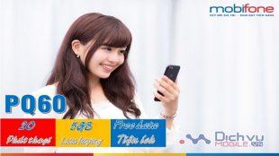 gói cuoc PQ60 Mobifone