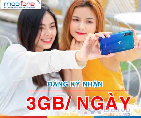 Cách nhận 3GB mỗi ngày cực dễ cho sim Mobifone