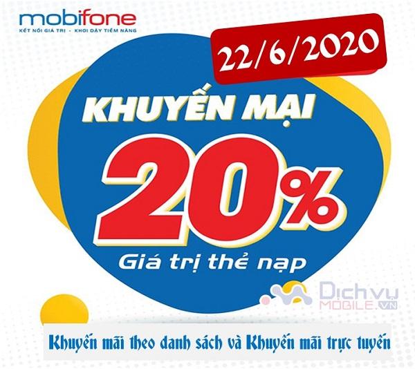 Mobifone khuyen mai hai chuong tring nap the