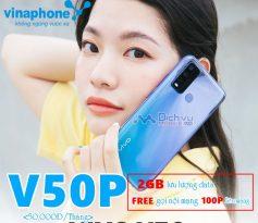 Hướng dẫn đăng ký gói V50P Vinaphone free gọi và 2GB chỉ 50,000đ