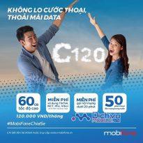HOT: Mobifone tặng thêm data miễn phí cho khách hàng đăng ký gói C120