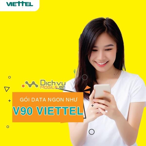 Cách đăng ký 3 gói khuyến mãi Viettel ưu đãi combo ngon như V90