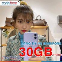 Cách đăng ký 4G Mobifone 30GB dùng 1 tháng