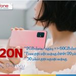 goi cuoc C120N mang Mobifone