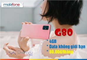 goi cuoc G80 Mobifone