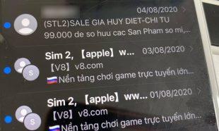 Cách chặn tin nhắn OTT quảng cáo cờ bạc phi pháp rầm rộ những ngày vừa qua