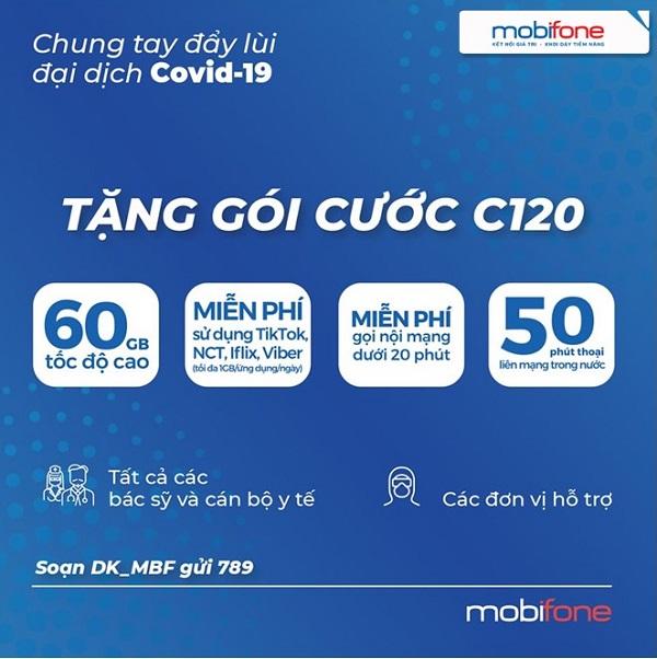tang goi cuoc C120 Mobifone