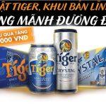 Khuyen mai mua bia Tiger doi phieu qua tang