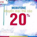 Mobifone khuyen mai the nap cuc bo ngay 22.9