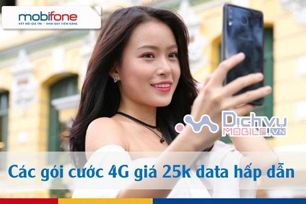goi cuoc 4G Mobifone gia 25k