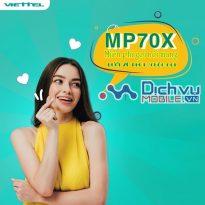 Hướng dẫn đăng lý gói MP70X mạng Viettel nhanh chóng