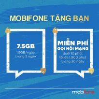 Mobifone tặng quà xin lỗi khách hàng: Free gói data 7,5GB và 1000 phút gọi